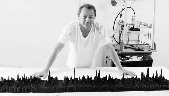 impresión 3D en el arte