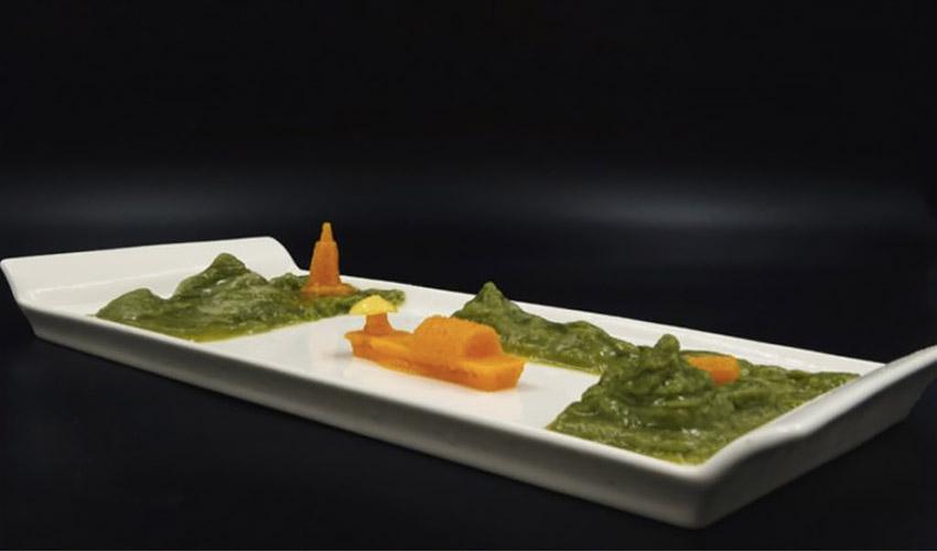 Impresión 3D verduras