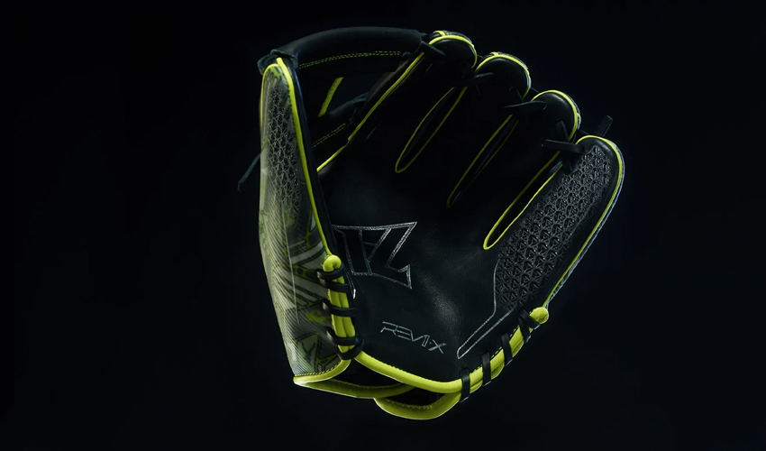 Carbon utiliza la fabricación aditiva para crear este guante de béisbol