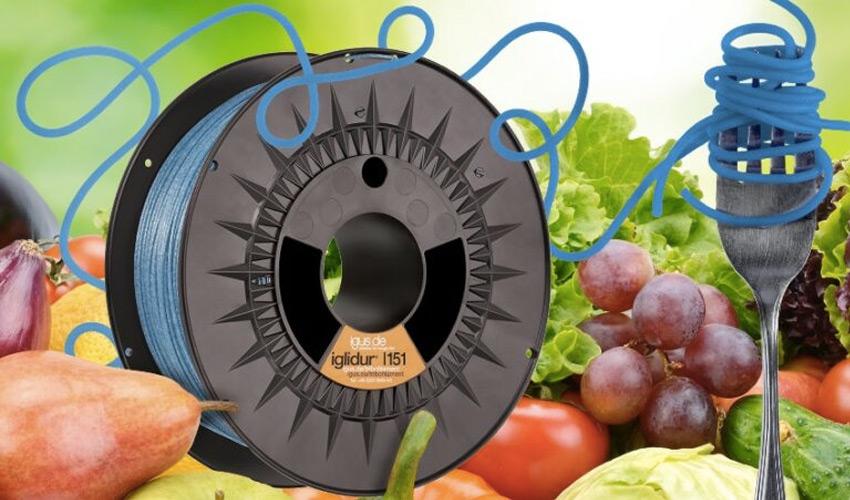 impresión 3D con alimentos