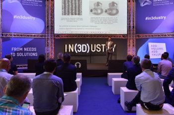 IN(3D)USTRY, 3era edición del evento que reúne a los actores de la impresión 3D