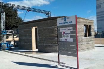 Be More 3D fabrica la primera casa impresa en 3D de España