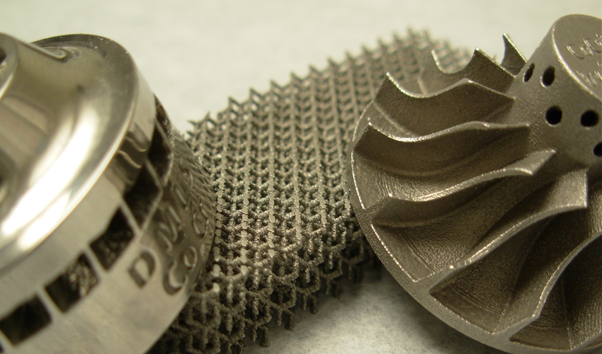 Metales de la impresión 3D