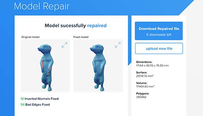 Reparar STL