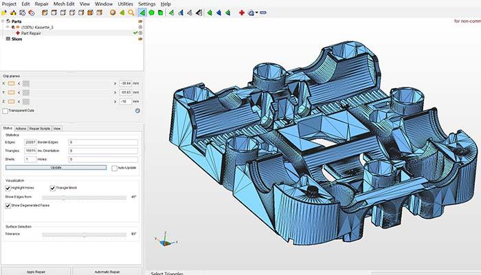 Reparar archivos 3D