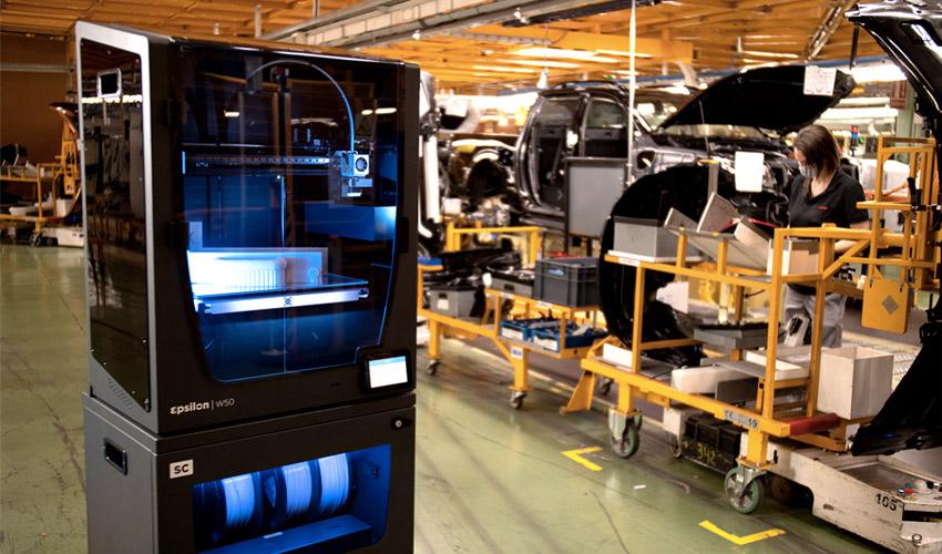 Nissan impresión 3D