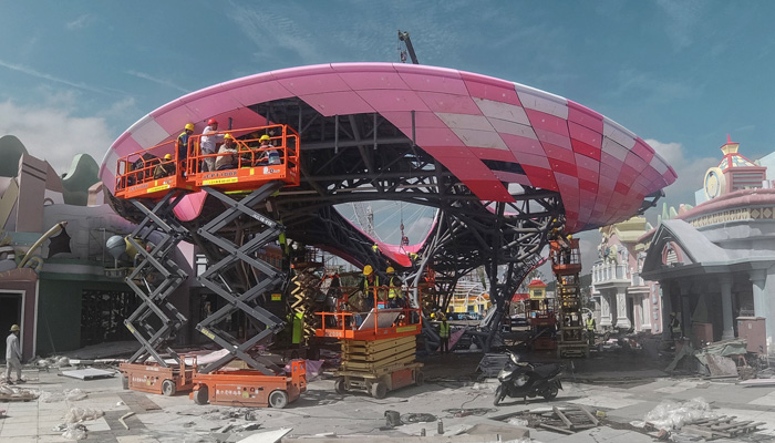 3D Printed Pavilion China