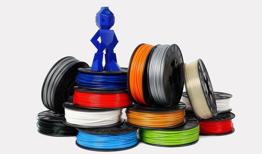Plásticos de la impresión 3D