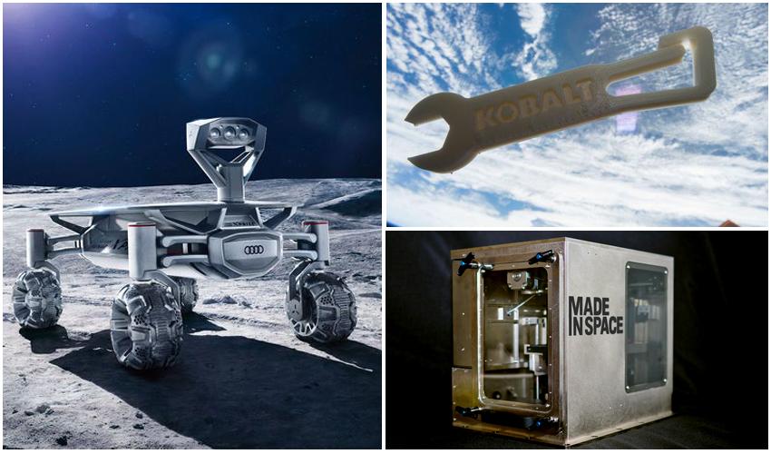 impresión 3D en el espacio