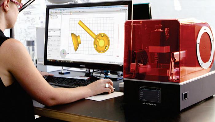 imprsora 3D de resina