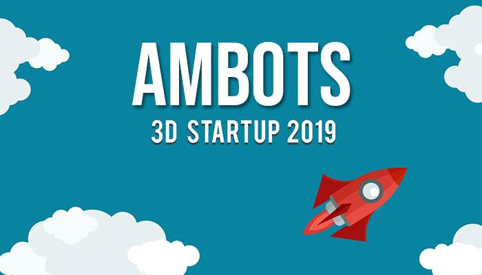 startup 3D del 2019