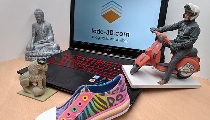 Servicios 3D en España