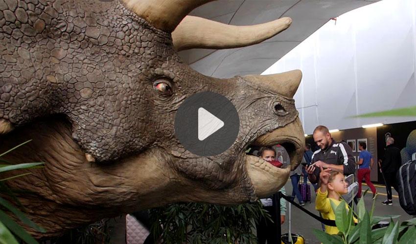 dinosaurio impreso en 3D