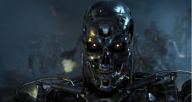 "EL robot T800 de ""Terminator Salvation""."