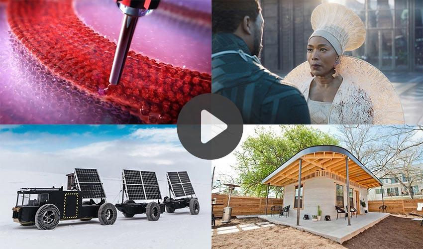 vídeos de fabricación aditiva en 2018