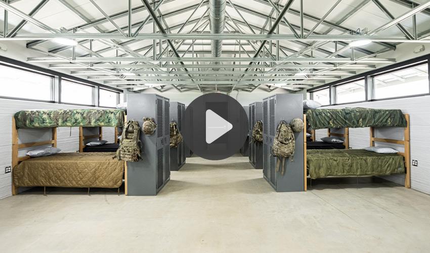 cuarteles militares 3D
