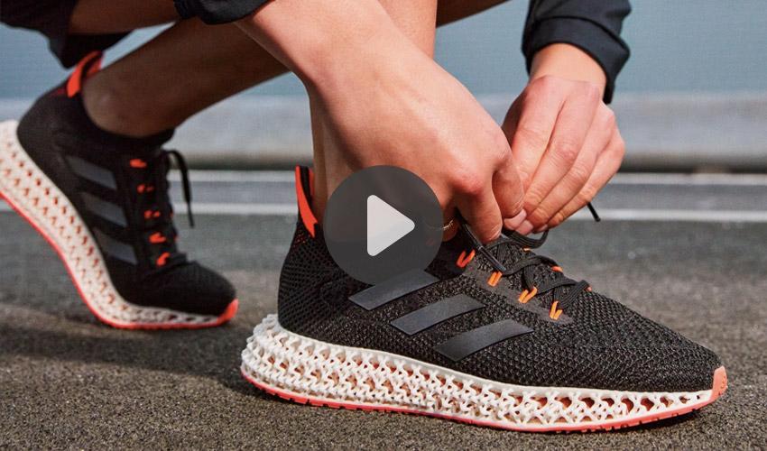 Vídeos 3D: Poniendo a prueba la suela impresa en 3D de las adidas 4DFWD…