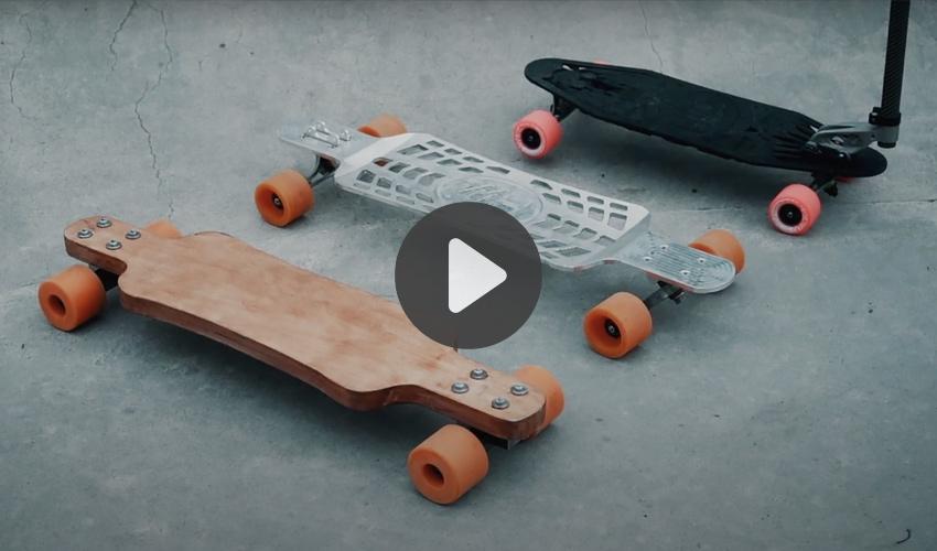 fabricación de patinetes