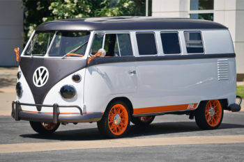 La mítica furgoneta Volkswagen se renueva con impresión 3D