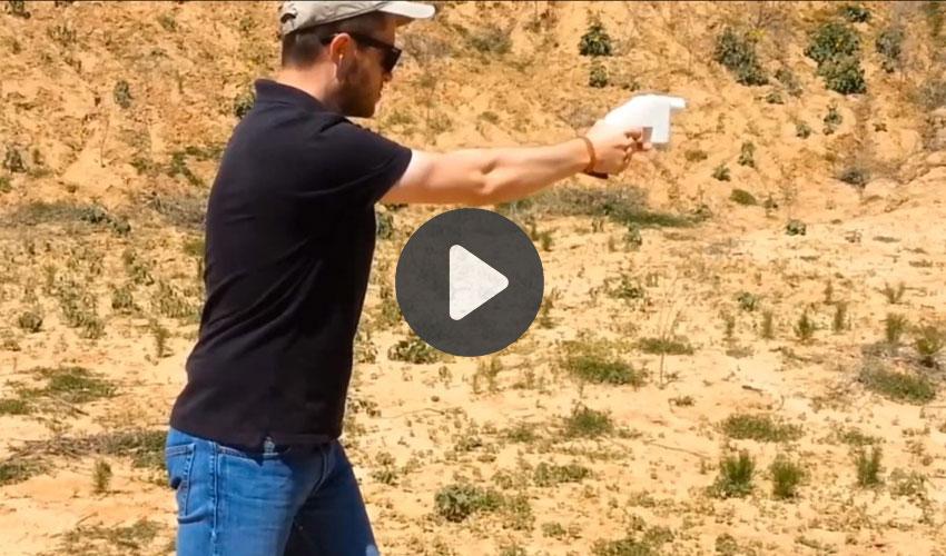 pistolas creadas con impresoras 3D
