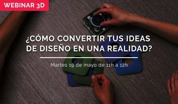 webinar ideas de dieseño impresion 3d