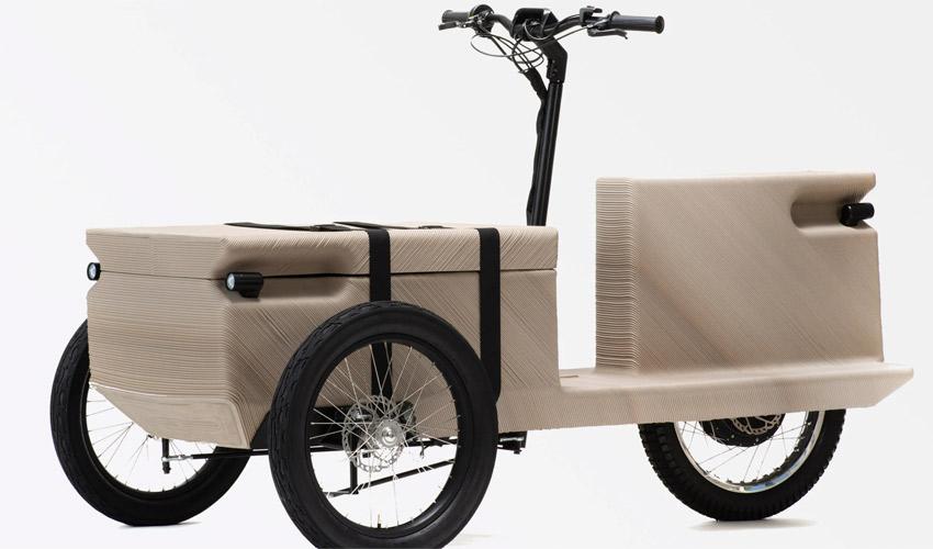 triciclo eléctrico 3D