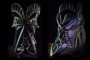Annie Foo, la diseñadora de zapatos únicos con impresión 3D