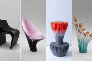 Nagami presenta las sillas impresas en 3D por Zaha Hadid Architects