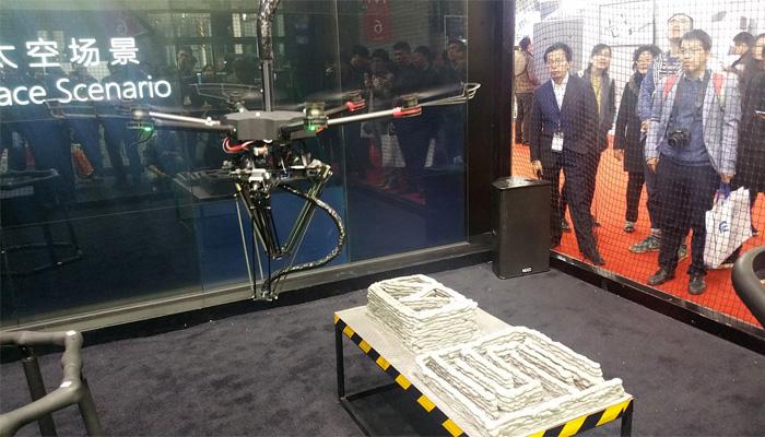 impresora 3D voladora