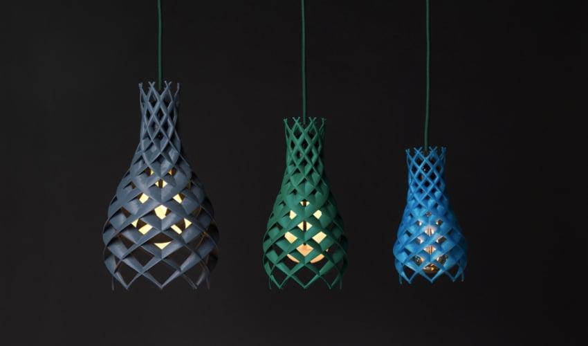 Plumen, la empresa que crea lámparas impresas en 3D