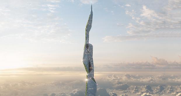 Arconic y sus rascacielos de más de 4 kilómetros creados con impresión 3D