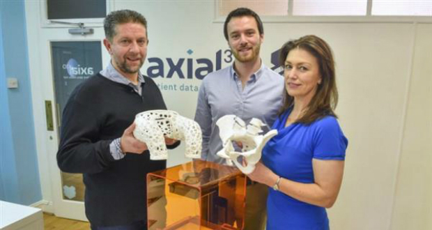Axial es una empresa de biomedicina impresa en 3D que recibió 450.000$ para distribuir prótesis en el mundo