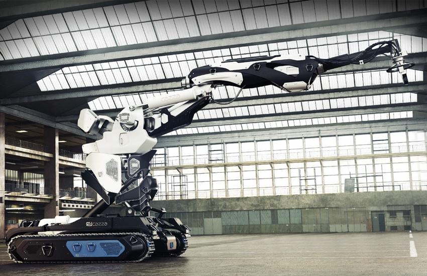 Cazza X1, el robot de impresión 3D que podrá reconstruir casas