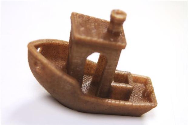 impresión 3D con filamento de cáñamo