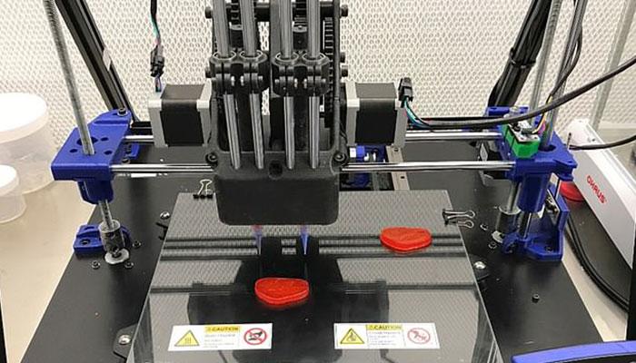 filete impreso en 3D