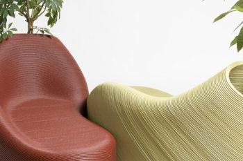 Zero Waste Lab, desechos plásticos en original mobiliario