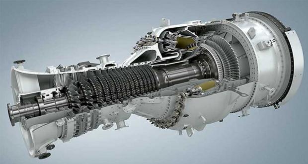 Turbina de gas SGT-800 de Siemens