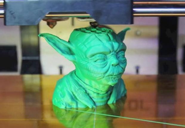 Le buste de Yoda