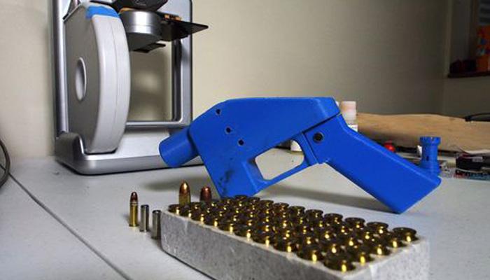 impresión 3D de armas