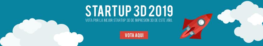 startup 3D de 2019