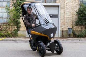 BICAR, un compacto automóvil eléctrico creado con ayuda de la impresión 3D