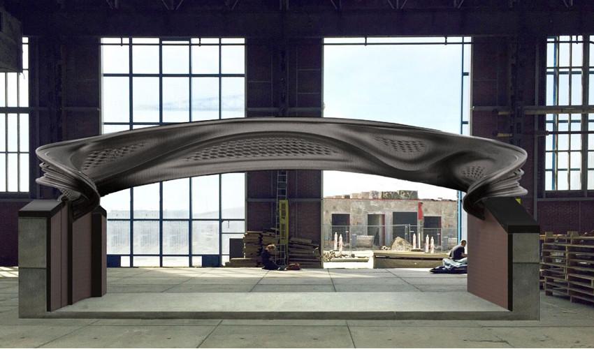 Menos de un año para el puente de metal impreso en 3D de Ámsterdam