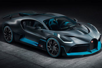 Divo de Bugatti, el nuevo coche de carreras con piezas impresas en 3D