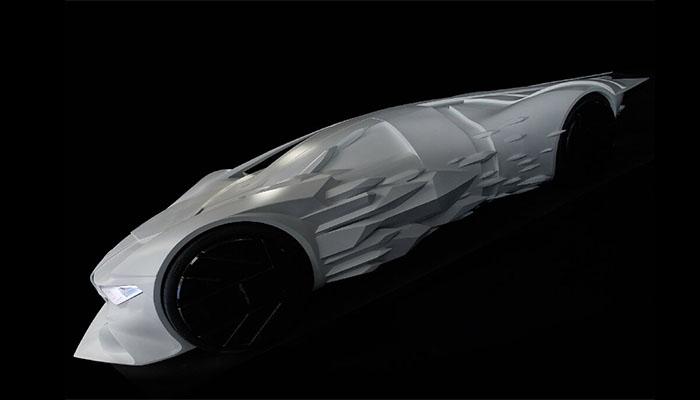 Coche impreso en 3D Massivit