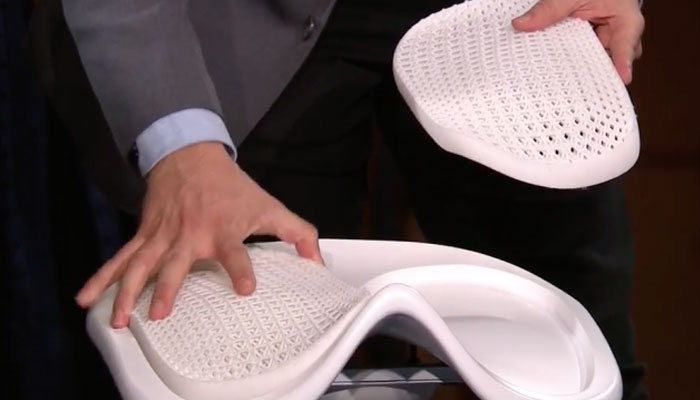 silla IKEA impresa en 3D