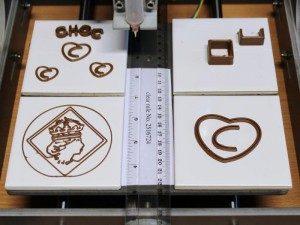 Impresión 3D de chocolate con la Choc Creator V1