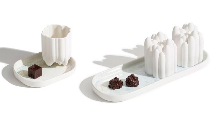 chocolates impresos en 3D