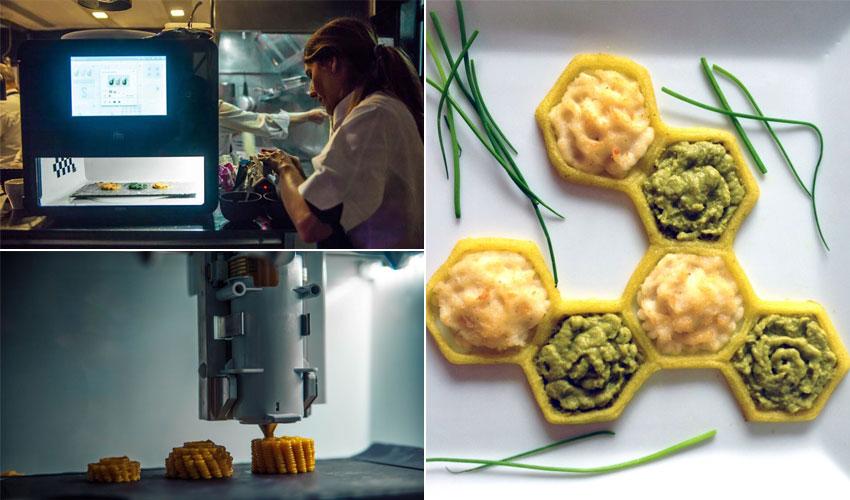 impresión 3D de alimentos
