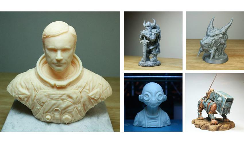 Lloyd Chidgzey, el escultor de la impresión 3D