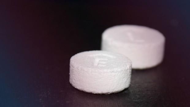 impresión 3D del primer medicamento